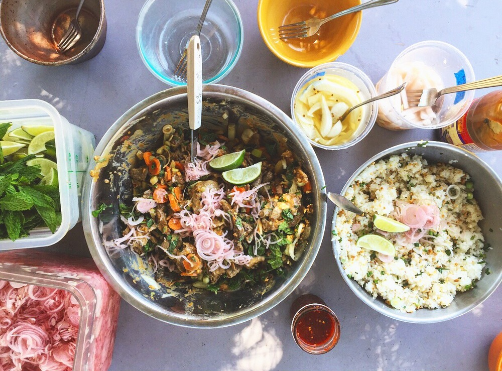 Leftovers for Lunch at Everett Family Farm in Soquel, California