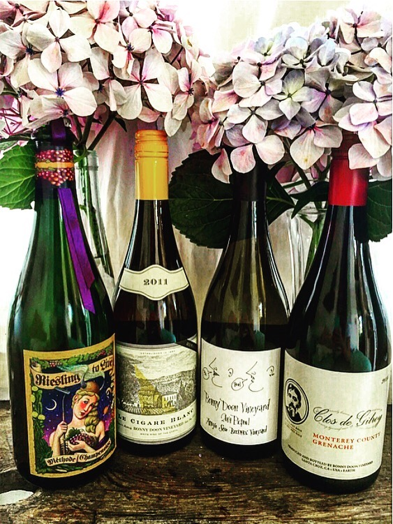Bonny Doon Wine Pairings by Seth Heitzenrater