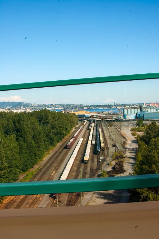 Trains in Vancouver, BC