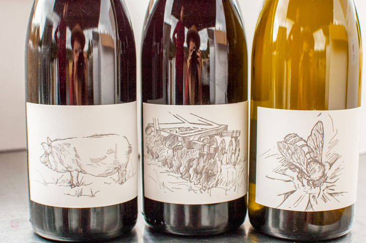 Hand drawn Labels by Claire at Big Table Farm