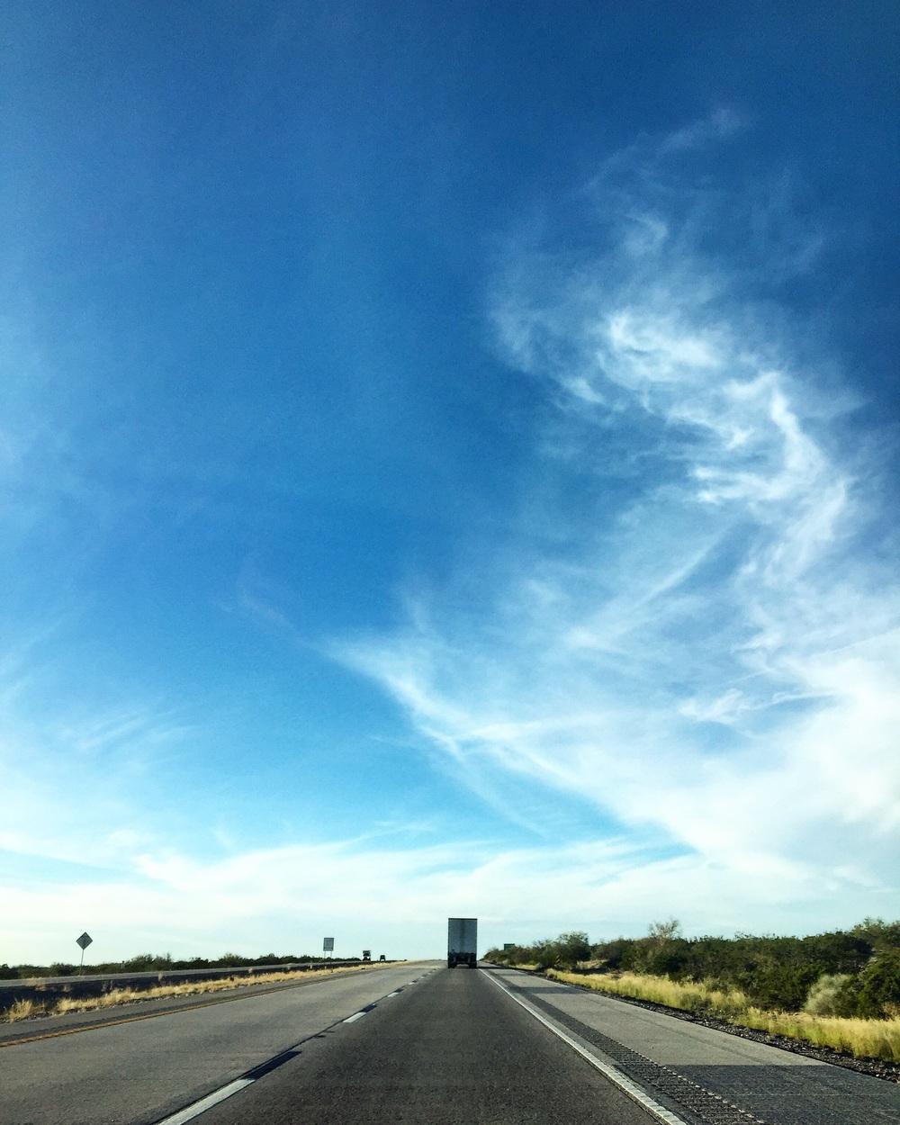 We Go West// I-80, Texas