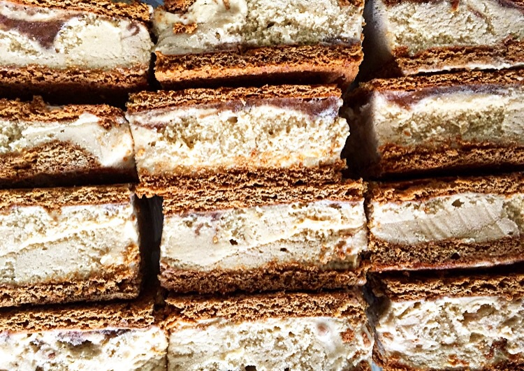 Abby's Mesquite and Top Texas Apple Butter Ice Cream Sandwiches// Austin, Texas