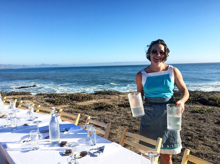 Marta the Water Bearer//Cayucos, California