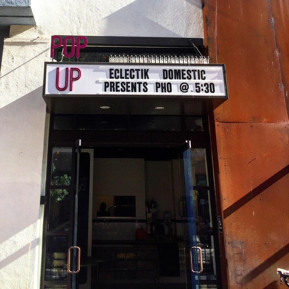 Pop Up @ Pop Up// Santa Cruz, California