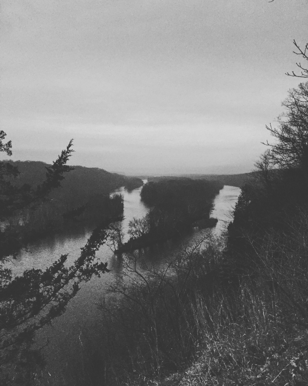 Delaware River Valley at Devils Tea Table//New Jersey