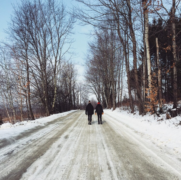 Snow Walk// Waterbury, Vermont