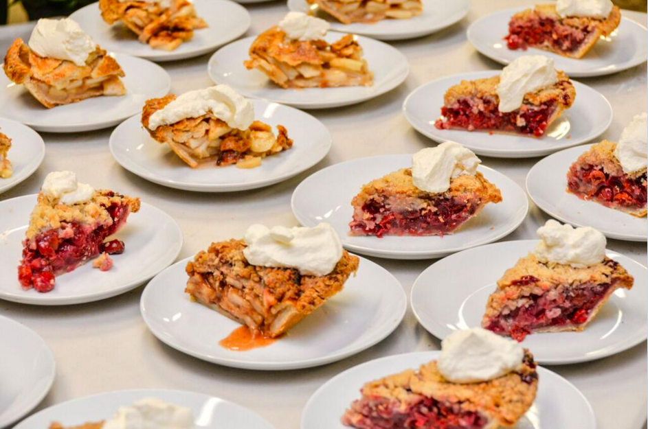 Frecon Farm Apple & Tart Cherry Pie with Seven Star Farm Whipped Cream //Photo by James Bassett-Cann