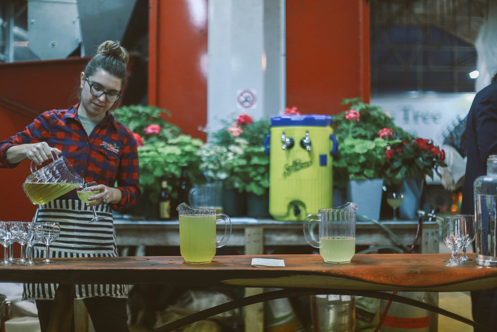 Kristen Jas Vietty, Bartender Extraordinaire// Photo by Ellie Tremble