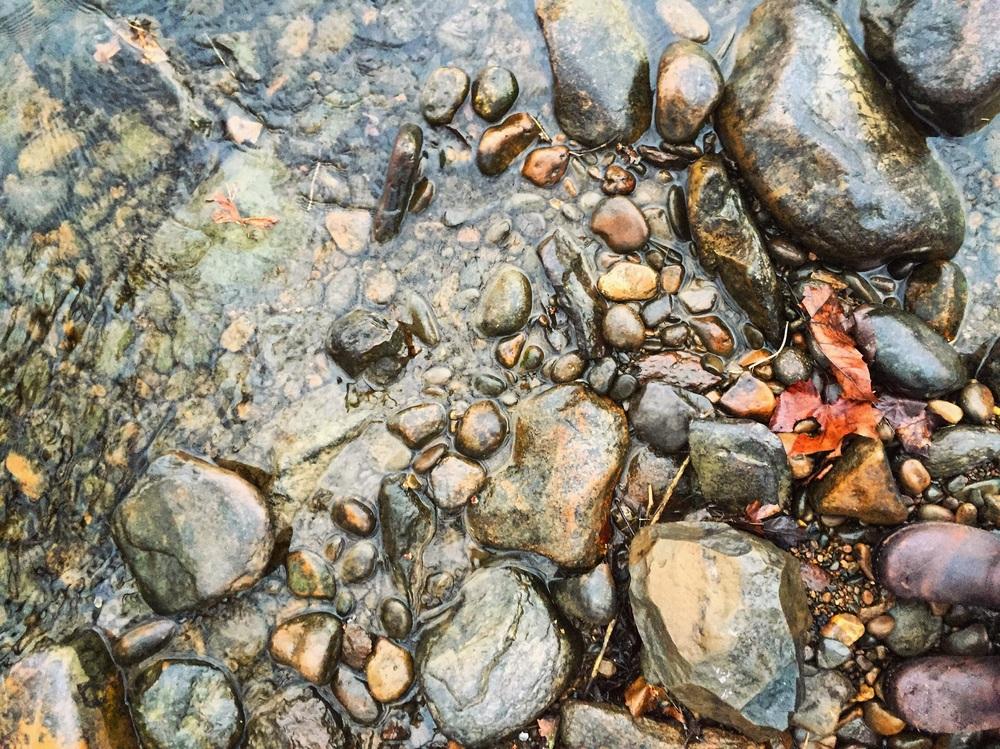 River Stones// Upper Black Eddy, Pennyslvania