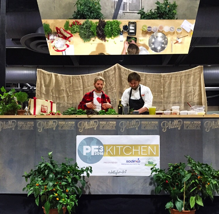 Adrian Galbrith-Paul of Heritage Farm and Chef Charles Parker of Talula's Garden talk Greens