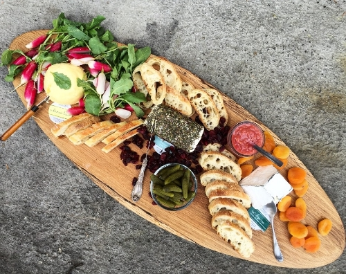 Valley Milk House Cheese Plate// Philadelphia, Pennsylvania