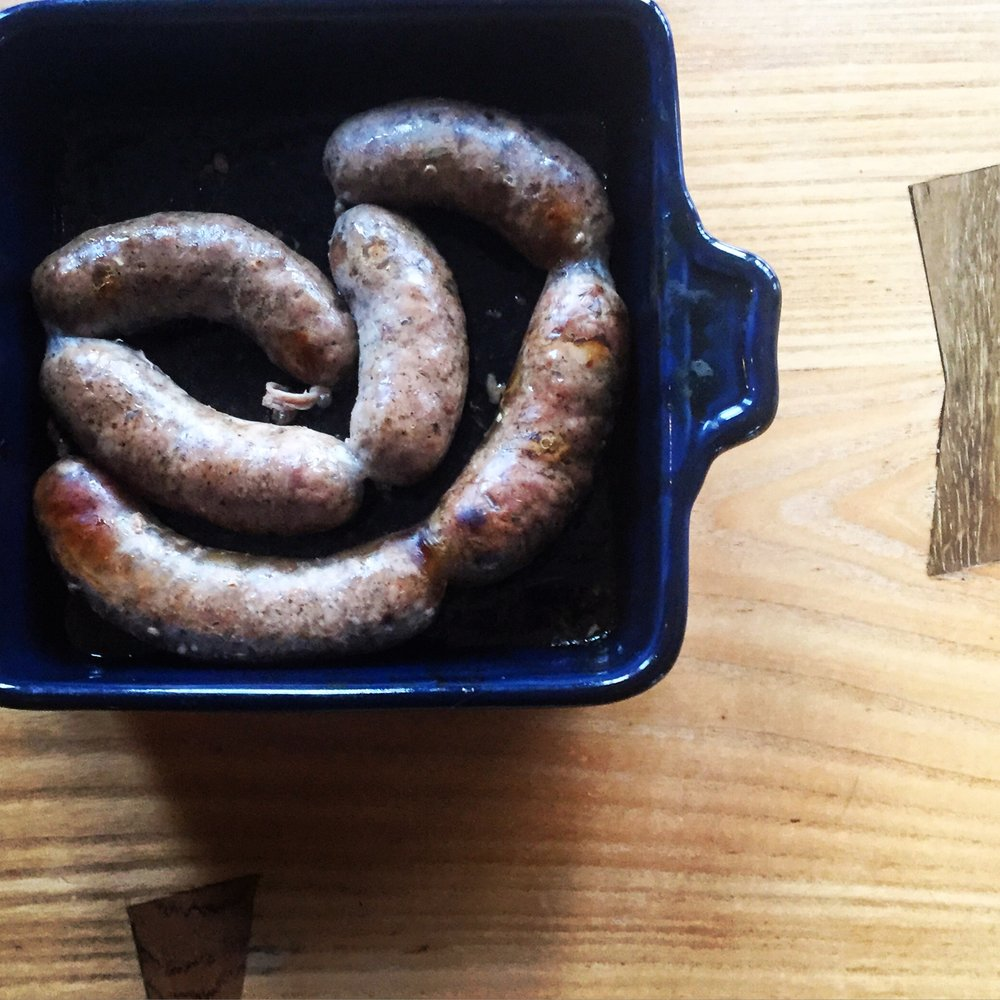 Bobolink Sausages// Upper Black Eddy, Pennsylvania