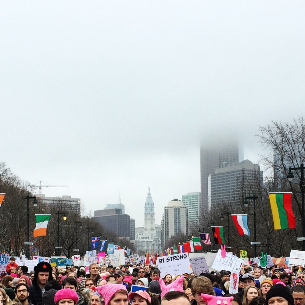 Women's March on Philadelphia// 1.21.17