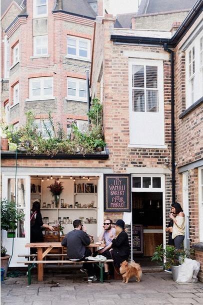 Lily Vanilli Bakery// London, UK