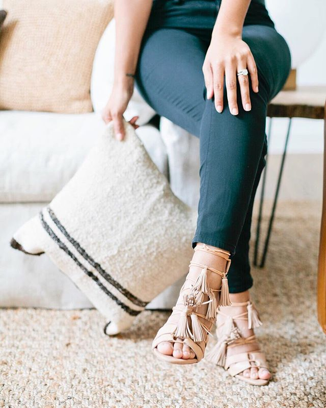 Anyone else wear their wedding shoes on repeat alllllll the time?!? ✌🏼@loefflerrandall #veronicavalenciahome