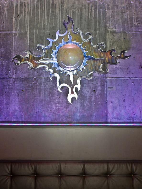 """Solar Ripples 48"""" x 62"""" - Rowland Augur"""