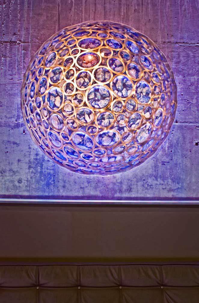 "Lunar Reflections 48"" - Rowland Augur"