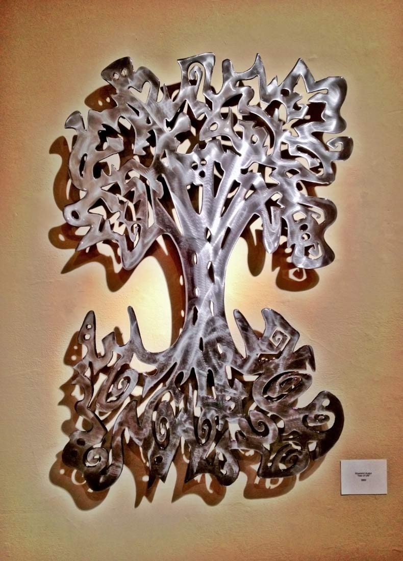 "Tree of Life (vertical)  32"" x 48"" - Rowland Augur"