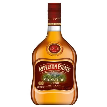 Signature Blend is the new name for Appleton's VX following its relaunch. The flagship rum of the range, this is an exceptional blend of 15 rums of varying types with an average age of four years old/5(11).