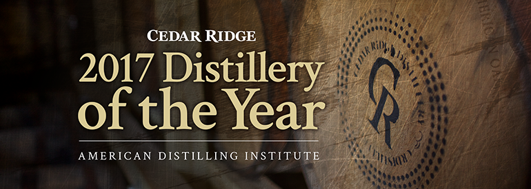 Image from Cedar Ridge Distillery
