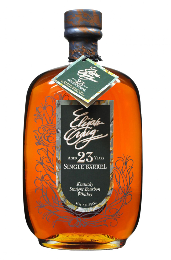 2.Elijah Craig Single Barrel Kentucky Straight Bourbon Whiskey Aged 23 Years