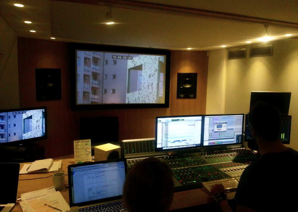 Day 3 in the sound mix!