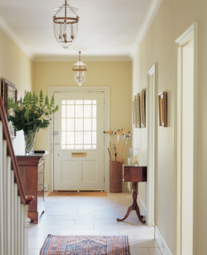 Classic Entrance Halls 10 Best: Farrow & Ball Paint And Wallpaper