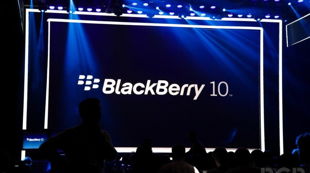 Blackberry 10 Sunumu Fotoğraf: BGR