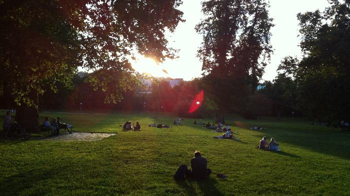 Schlossgarten / Stuttgart