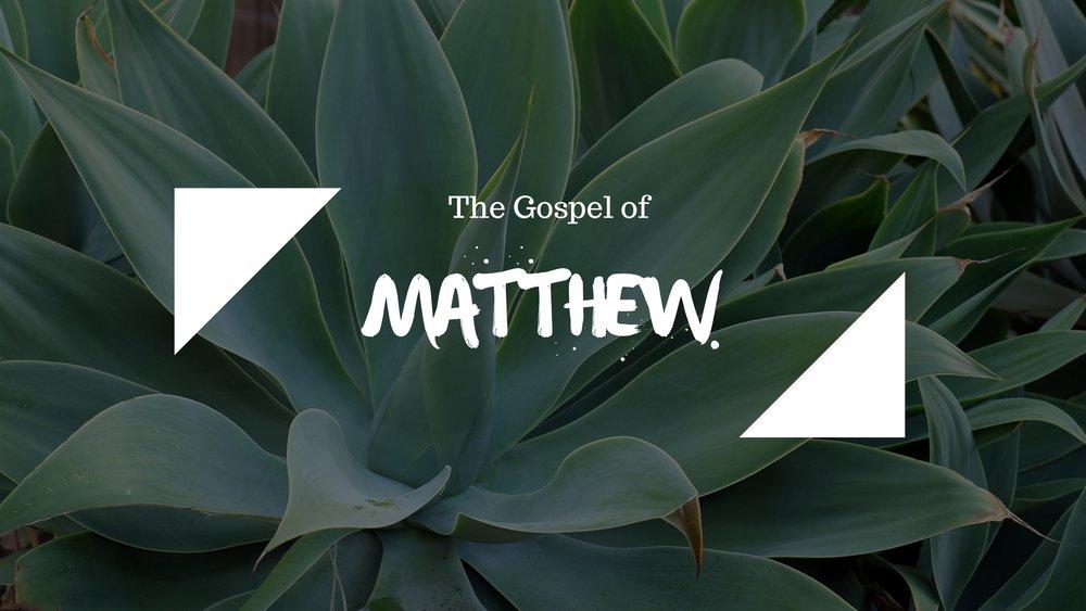Matthew 6:13-34 -