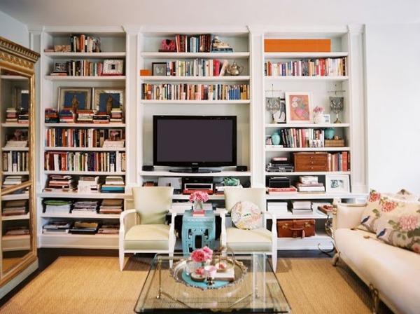 tv bookshelves