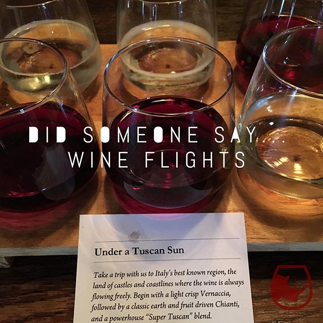 Did someone say... Wine Flights. #redwine #whitewine #disneyworld #tuttogusto #italy