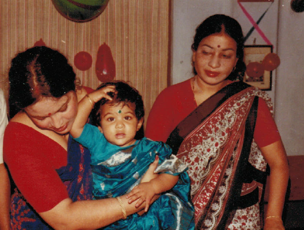 Trina's global curiousity began on her very first international trip - traveling to Bangladesh from New Orleans to celebrate her first birthday with her Mom's family.