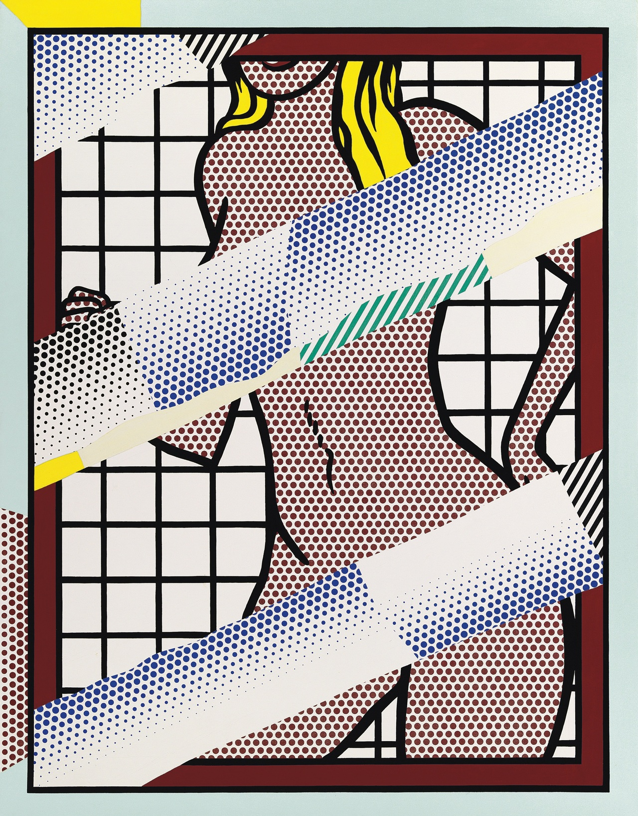 Roy Lichtenstein (1923-1997) Reflections on Jessica Helms Post-War and Contemporary Art Evening Auction
