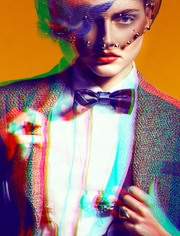 surrealdiamonds: HOMAGE TO ANNA PIAGGI | STORYBOOK FALL 2012 Photography: Decker Kutic Model: Helena Styling: Petar Trbović Hair: Milena Maršić Make up: Saša Joković