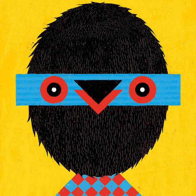 Birdie  by  Bert van Wijk