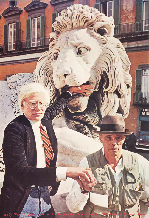 aqqindex :     Joseph Beuys, Andy Warhol and Joseph Beuys, 1980