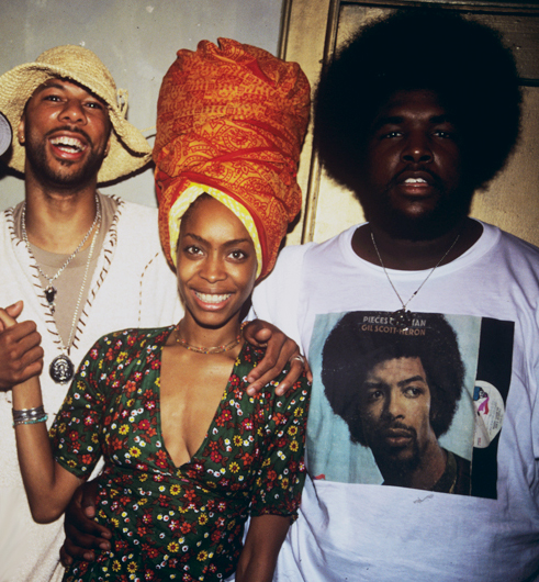 bxnjamin :     Common, Erykah, and QuestLove