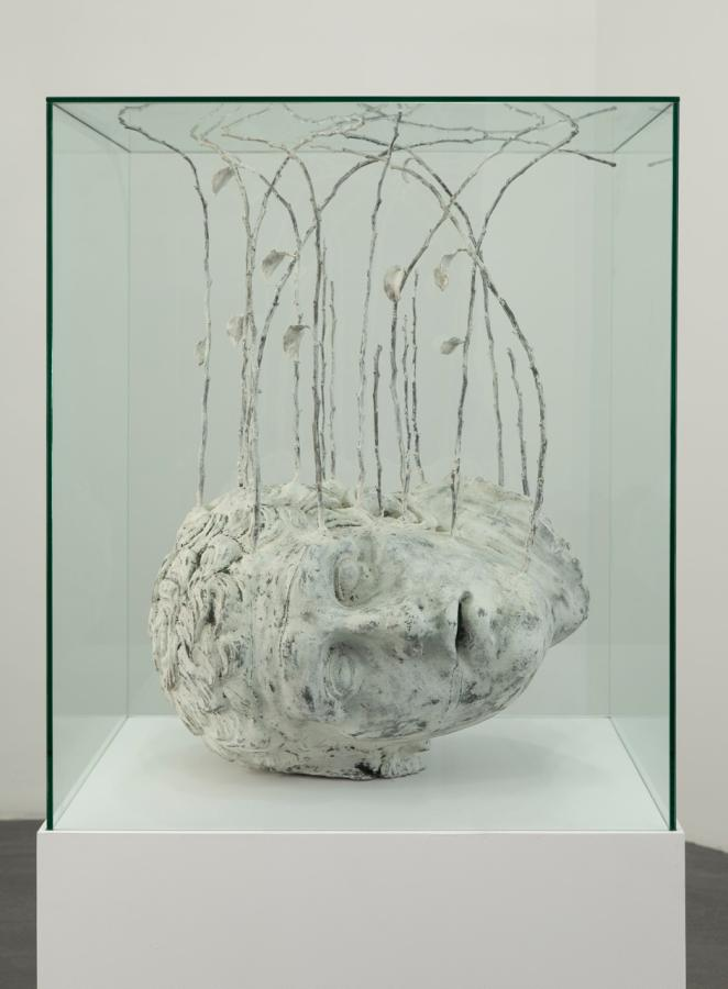 darksilenceinsuburbia :       Thomas Lerooy  .  The Garden (Ed# 5), 2010. Bronze, 90 X 45 X 48 cm.