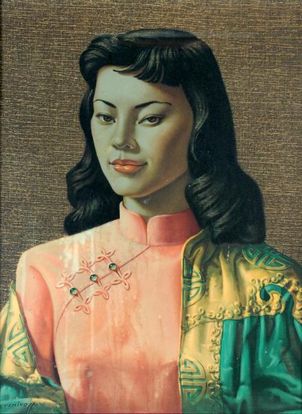blo :     Miss Wong - Vladimir Tretchikoff