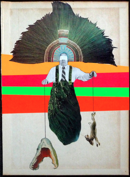 collage-calamity :       Untitled,    Duane Dugas