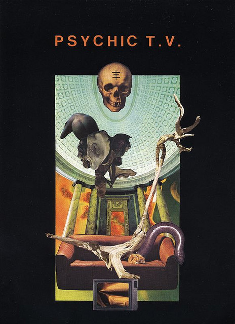 "oxane: SS33009 - PSYCHIC TV ""Roman P"" (cover by Jean-Pierre TURMEL) by sordide.sentimental sordide-sentimental.com/"