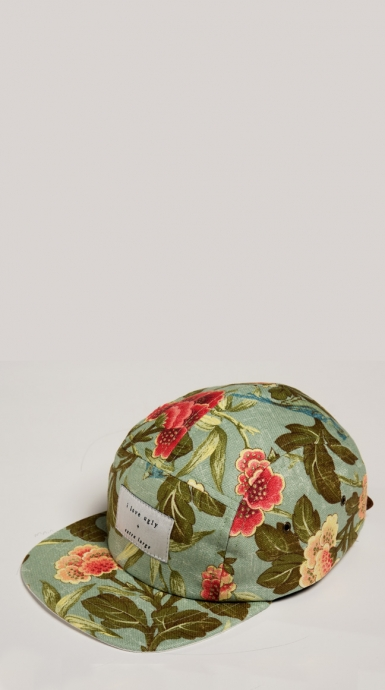 themaxdavis :     Mint Flower Cap | I Love Ugly