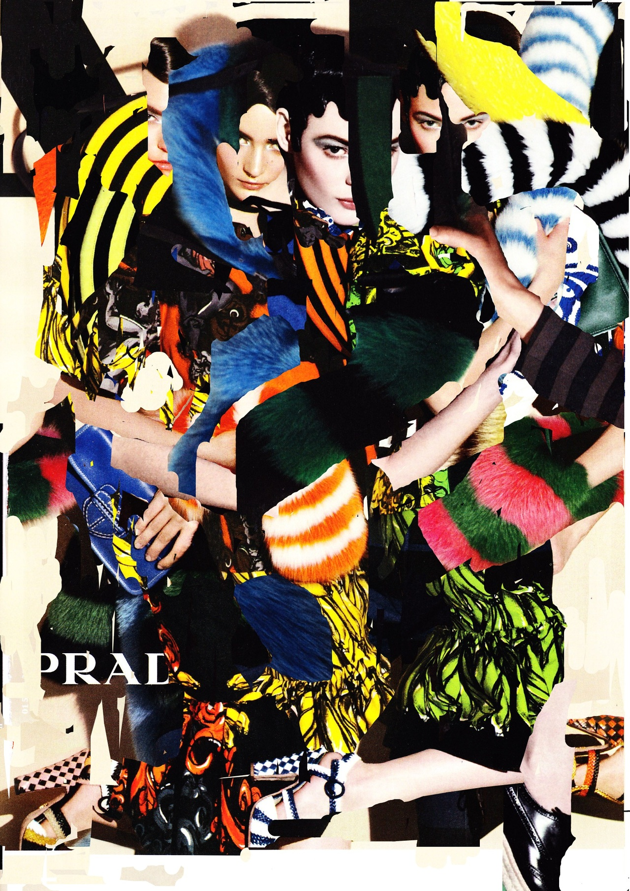 maryjopeace :      ANNA KA  \ Prada Photomontage \ digital print \ 2011