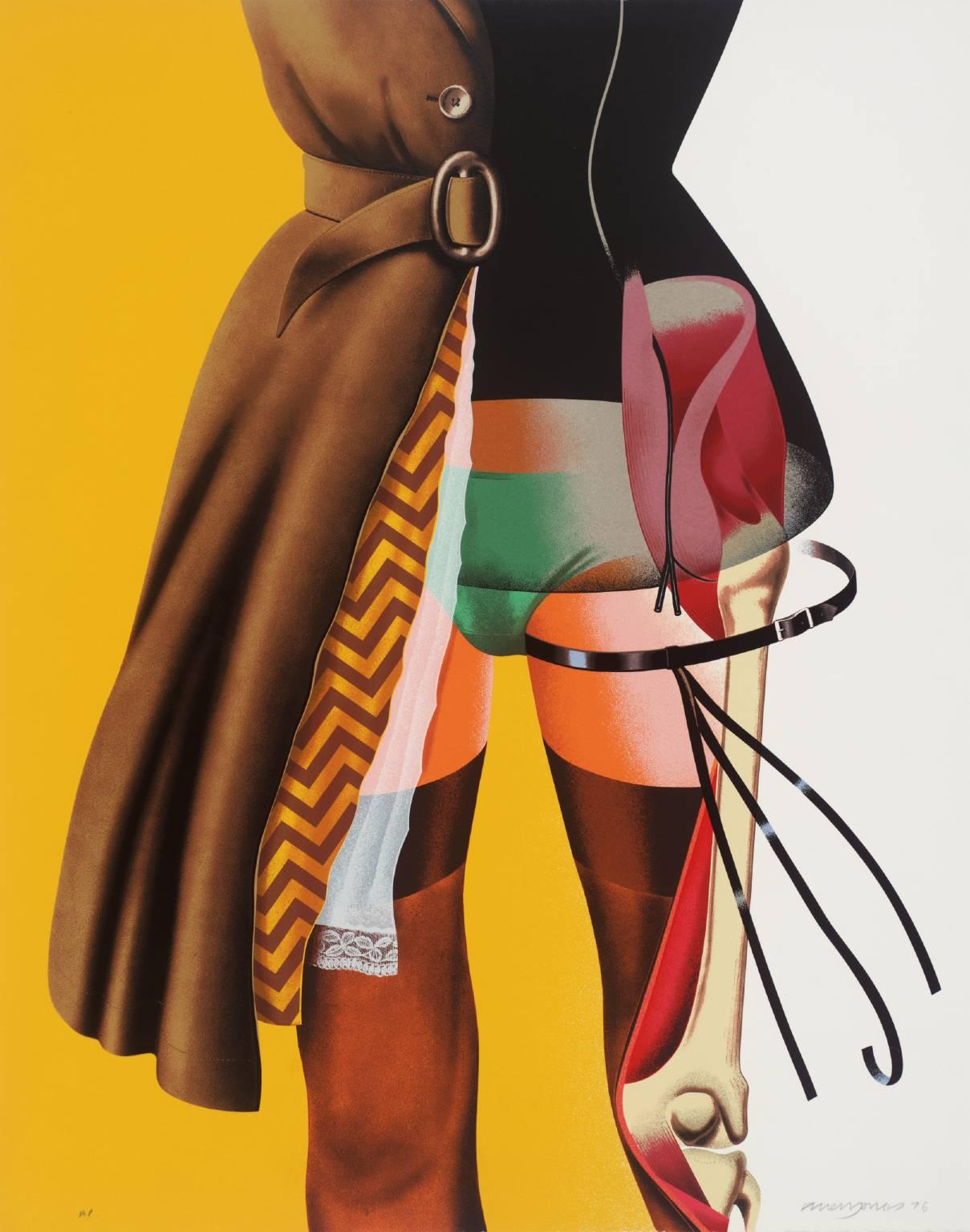 foxesinbreeches :      Cut-a-Way  by Allen Jones , 1976