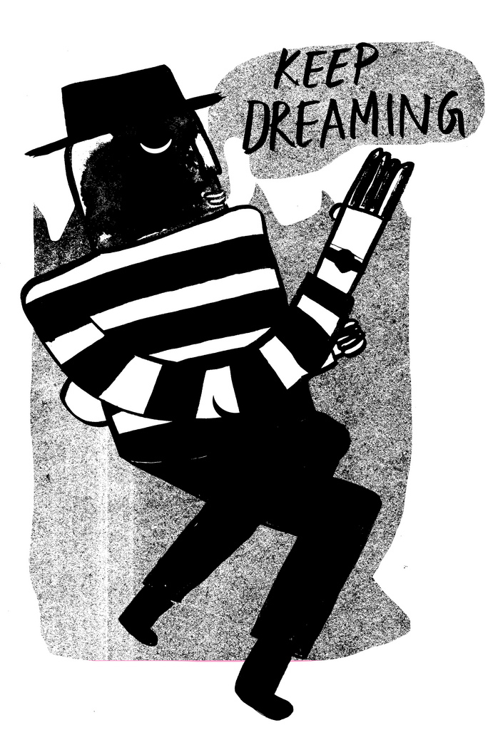 tuesdayblouse :     keep dreaming (by  Thomas Howes )