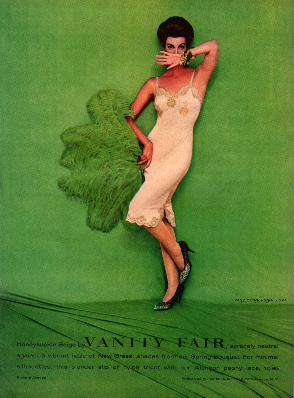 Vanity Fair 1959 - photo by Richard Avedon | via:  myvintagevogue