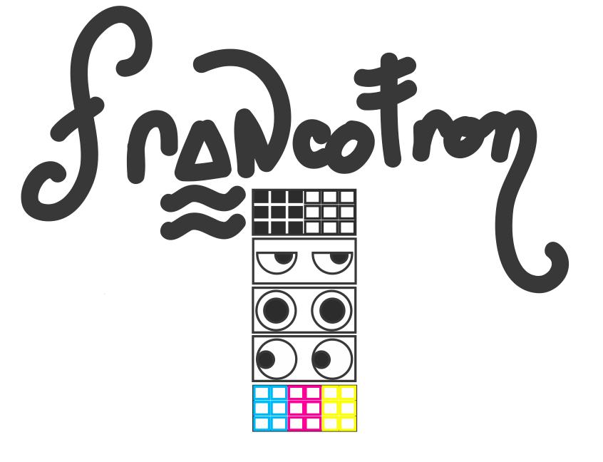 Francotron logo design.