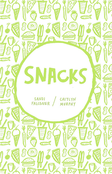 Caitlyn's 'Snacks Zine', a cute little issue featuring a range of delicious snacks and beverages. Yumm. In collaboration with  Sandi Falconer .