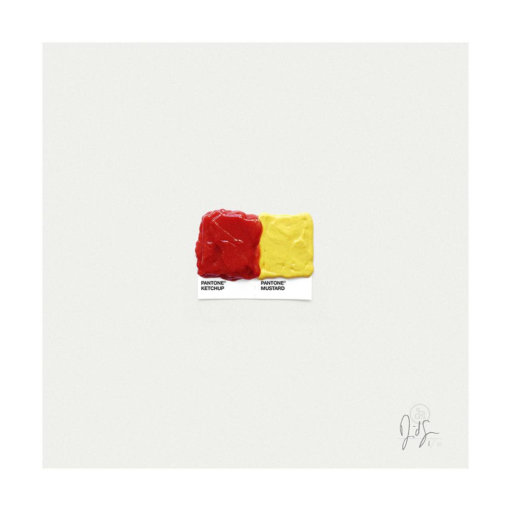 Ketchup & Mustard.